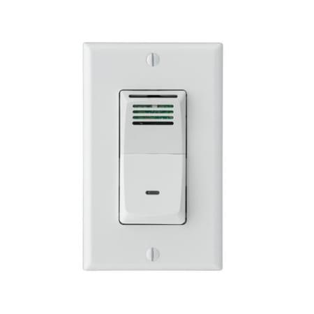 Broan 82w White Humidity Sensing Bath Fan Wall Switch With