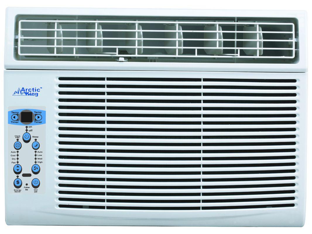 Arctic King Akw10cr61 White 10000 Btu 115 Volt Window Air