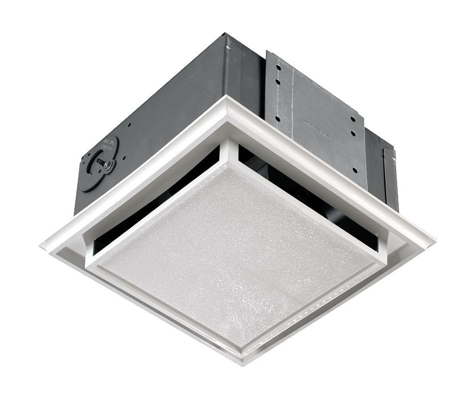 Broan 682 White Non Ducted Ceiling Or Wall Mounted Bath Fan