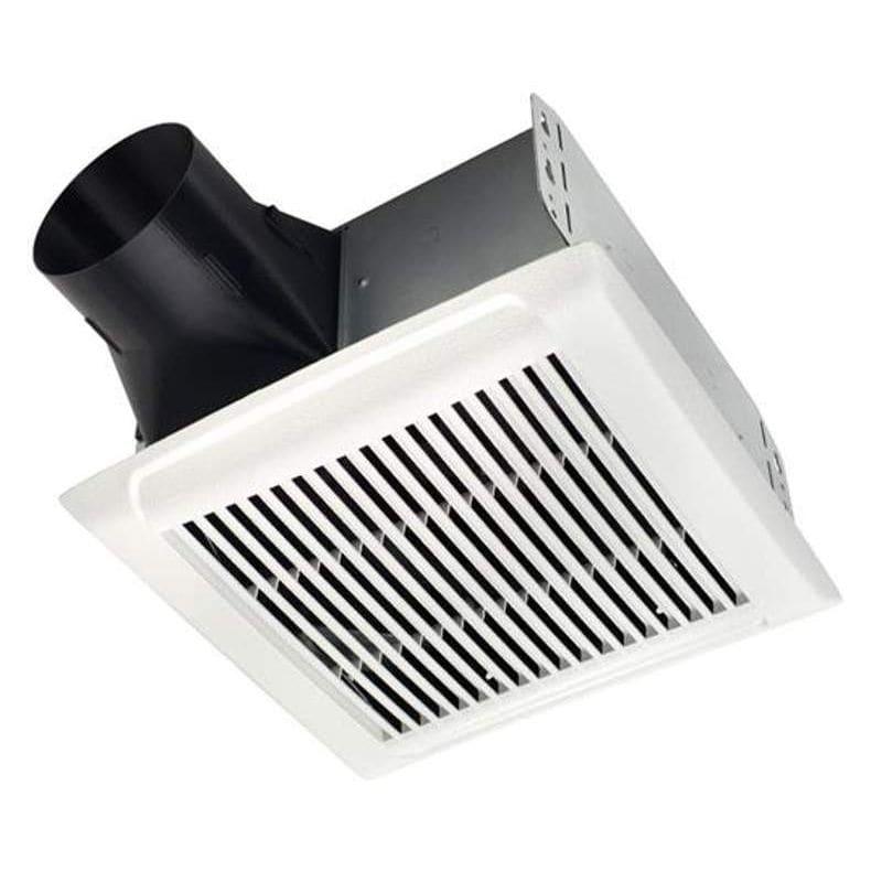 Nutone Aen110 White Invent Series 110 Cfm 1 3 Sone Ceiling Mounted Hvi Certified Bath Fan