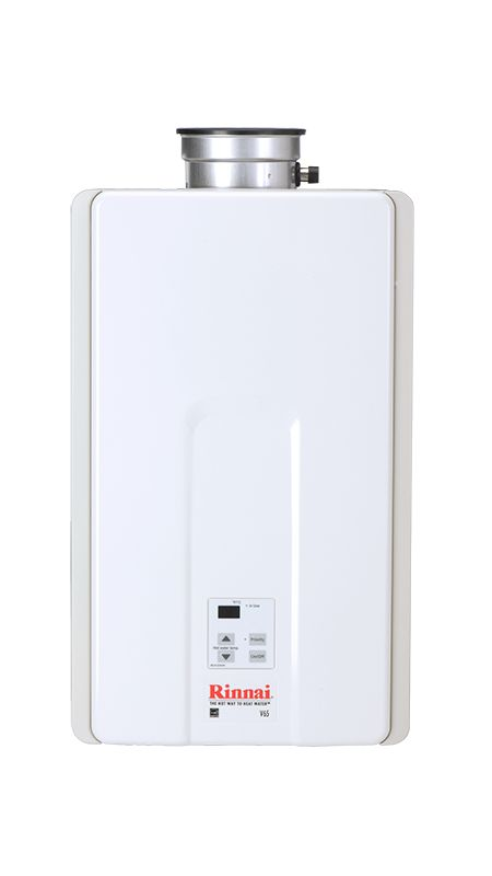 Rinnai V65in White 6 5 Gpm Residential Indoor Natural Gas