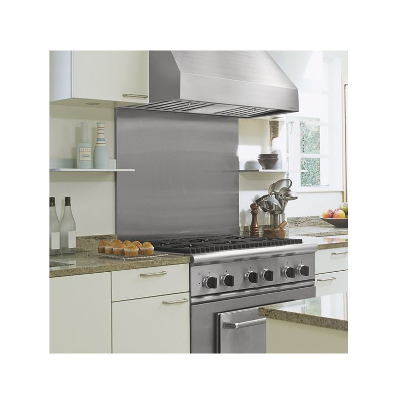 "Kitchen Hood Options: Vent-A-Hood PRH18-M48 SS Stainless Steel 48"" Wall Mounted"