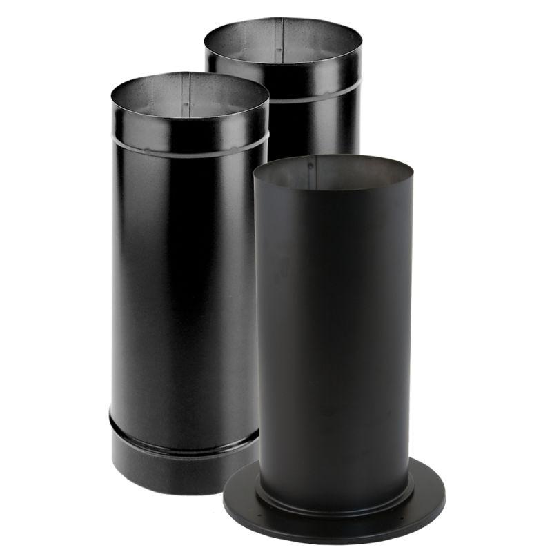 Duravent 6dbk Ksp Black 6 Quot Inner Diameter Durablack