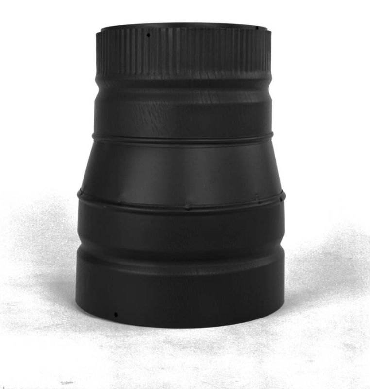 Metalbest 77570 Black 8 Quot Inner Diameter Dsp Stove Pipe